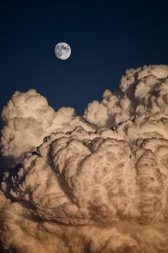 The Moon In Cotton by Lluis de Haro Sanchez