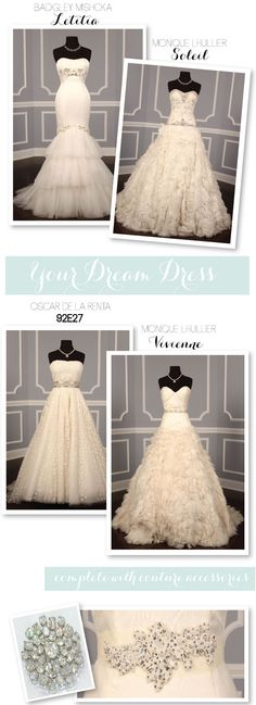 Don't miss the Gift Certificate Give-Away from Your-Dream-Dress on SMP! They have a huge selection of dreamy designer gowns!!