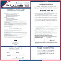 E10DC —  District of Columbia State Poster Kit-DC ( 24 in x 24 in )