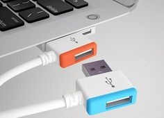 This is useful - an infinite USB connector.