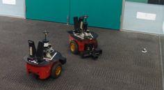 Lingodroid Robots Invent Their Own Spoken Language