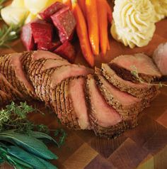 It's not too late to prepare a special valentine's dinner for your family. Amana Kansas City Strip Fillet Roast with Port and Rosemary Sauce is really delicious and very special.