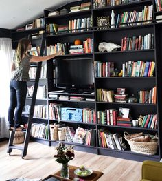 #bookshelf #black