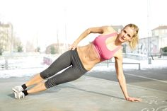Try a new workout to tone the abs with this Plank It Out exercise.