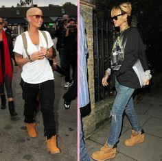Timberland Swagg love these two ladies ♥ #AmberRose & #BadGirlRiri