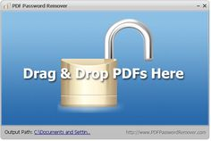 Quitar la contraseña de un PDF al instante: PDF Password Remover | Una Zona Geek