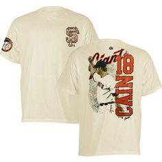 Matt Cain Signature Series T-Shirt (Ivory)