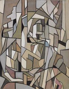 Tamara de Lempicka, Composition Abstraite