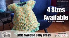 Little Sweetie Baby Dress Crochet Pattern