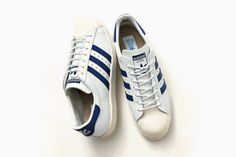 #adidas Superstar 80s Navy by #BEAUTY