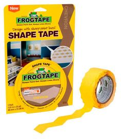 Chevron painters tape - SHUT UP!!! Now I won't have to measure and worry about my angles