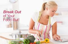 Stuck in a #food rut? Spice up your meals with these easy ideas! | via @SparkPeople #nutrition #diet #FitFood