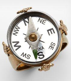 Mini Compass Ring