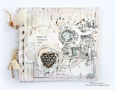 Nadia Cannizzo , Zutter - Bind- It- All , art altered book , Donna Salazar Designs http://samnadia.blogspot.com.au/2013/05/my-first-post-as-donna-salazars-may.html