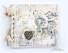Nadia Cannizzo , Zutter - Bind- It- All , art altered book , Donna Salazar Designs http://samnadia.blogspot.com.au/2013/05/my-first-post-as-donna-salazars-may.html
