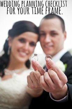 Wedding Planning Checklist for Your Timeframe