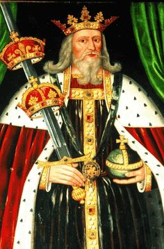 King of England, Edward III Plantagenet Ancestor