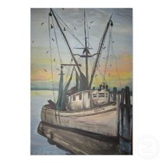 i love a shrimp boat