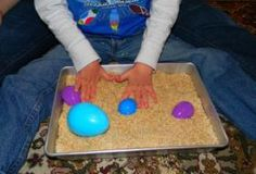 Make Your Own Egg Hunt Sensory Game! - Pinned by @PediaStaff – Please Visit  ht.ly/63sNt for all our pediatric therapy pins