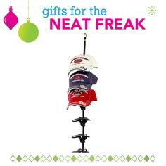 Keep your house organized and your neat freak happy with this awesome gift!