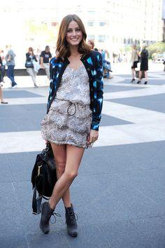 fun & flirty look done right. Olivia Palermo