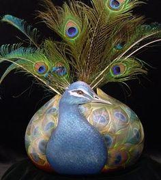 visual arts, gourd art, peacock gourd, festivals, california