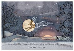 Winter Solstice Luna Hare