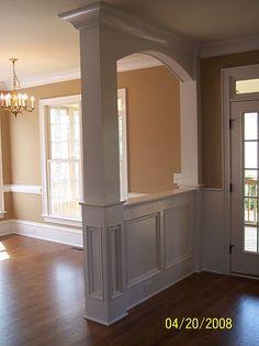 Trim Interior Columns | Interior Woodworks, Inc. | Interior Trim and Decorative Moldings ...