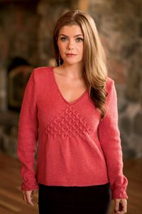 Vera Sweater - knitting pattern from Winter 2013 Love of Knitting