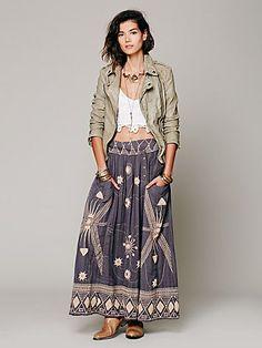 FP New Romantics Sweet Nothings Maxi Skirt