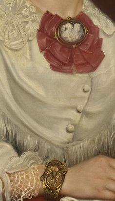 Emma Ekwall-Maria Dominica Ricci, c. 1854 (detail)