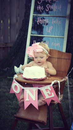Project Nursery - Girl 1st Birthday Party