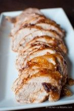 Balsamic-Garlic Crusted Pork Tenderloin