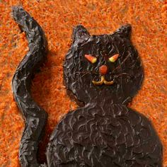 black cat. It's the purr-fect Halloween dessert. Halloween Desserts ...