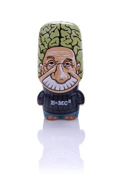 Mimobot Einstein Brainstein MIMOBOT Designer USB Flash Drive 8GB
