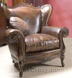 Need this leather chair in my livingroom