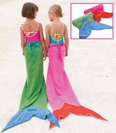 Totally hackable....MUST. MAKE. Mermaid tail towel.