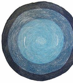 crochet circular stole 2 ways