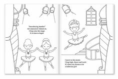 I'm A Little Dancer Coloring and Activity Book  #BackToSchool