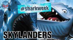 Skylanders SHARK WEEK Thumpback #Skylanders #SharkWeek #Thumpback #toys #collecting