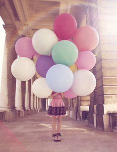 Candy Coloured Ballons