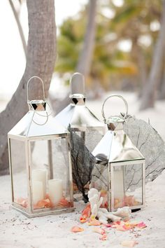 Gorgeous Lanterns - One addition that would absolutely be used again after the wedding!   Styling by www.davidfittin.com, Photography by www.ktmerry.com