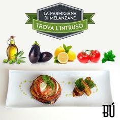 A tutti gli amanti del nostro  buon cibo:  Sapete trovare l'intruso in questa #parmigiana di #melanzane?
