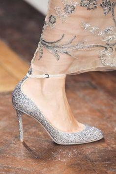 All That Glitters / Wedding Shoe Inspiration / LANE