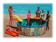 I loved my pool and had most of these barbies too!