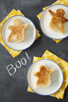 Ghostly Grilled Cheese
