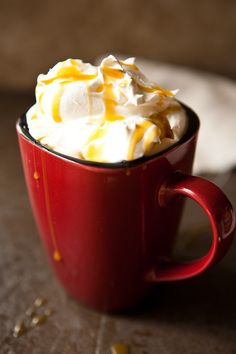 Cool Whip Cappuccino. Yes, please!