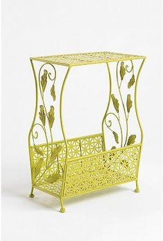 Flourish Storage Side Table - StyleSays