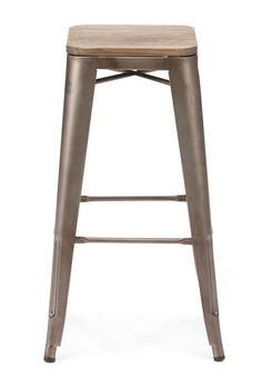 Marais Bar Chair stool wood & metal