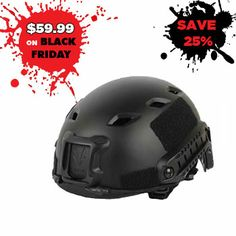 All FAST Base Jumper Tactical Helmet. Available Online and In Stores.